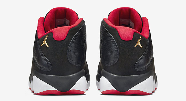 "Air Jordan 13 Low ""Bred"""