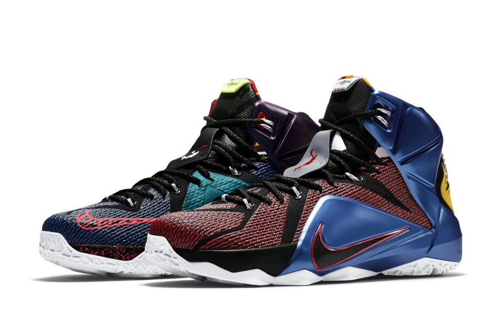 "Nike Lebron 12 SE ""What The"" 802193-909"