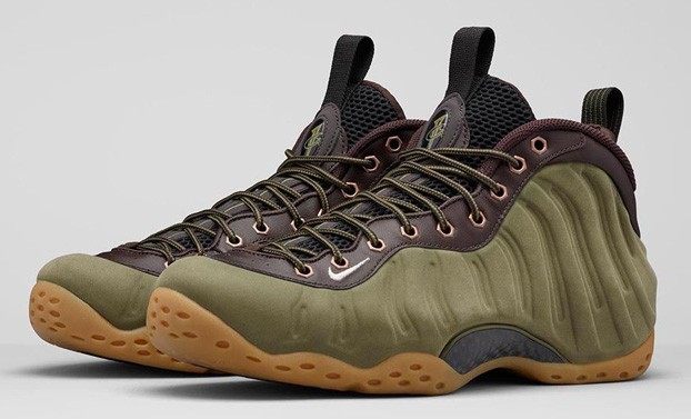 "Nike Air Foamposite One PRM ""Olive"" - 575420-200"