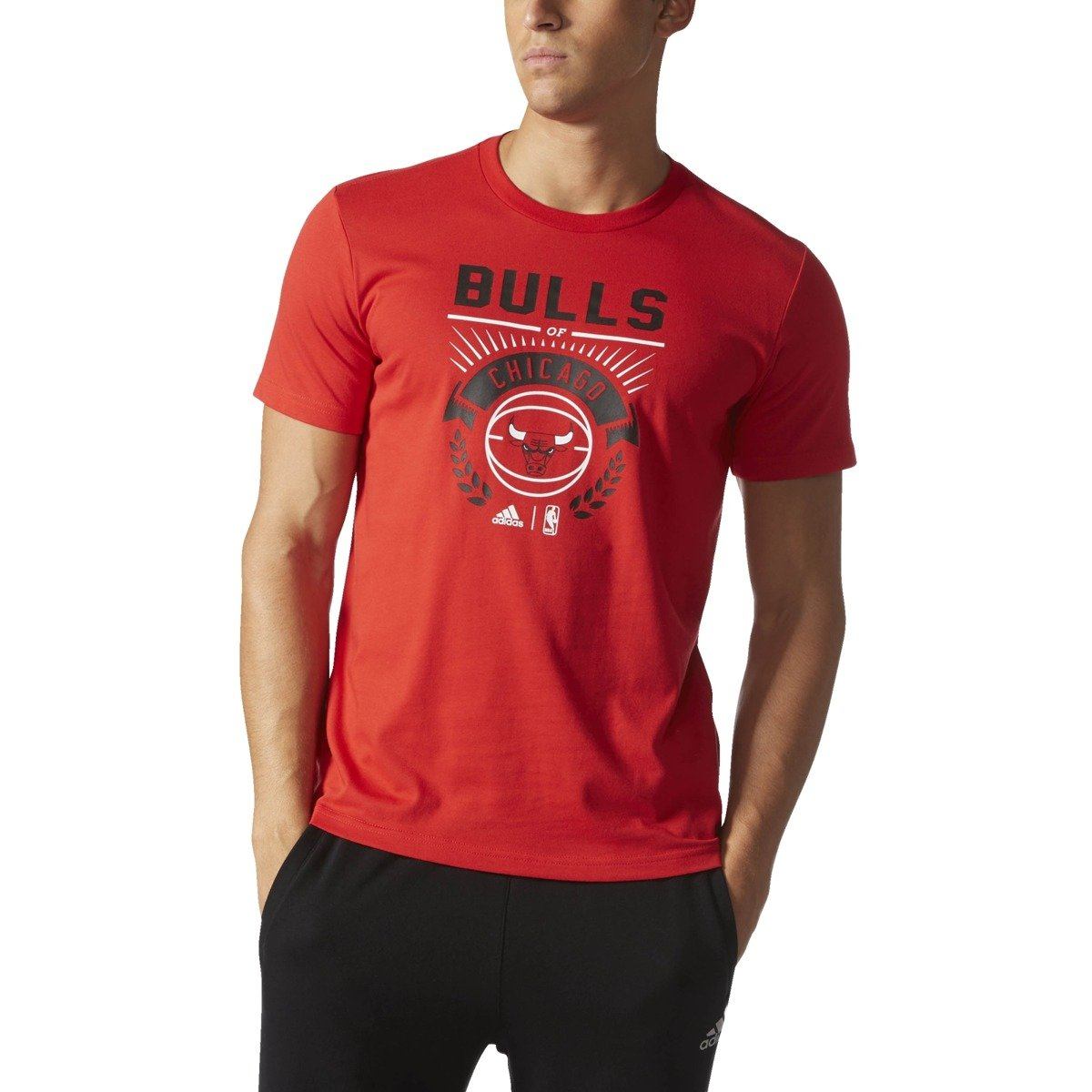 chicago bulls t shirt adidas