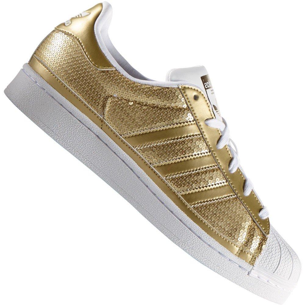 adidas superstar damen gold glitzer