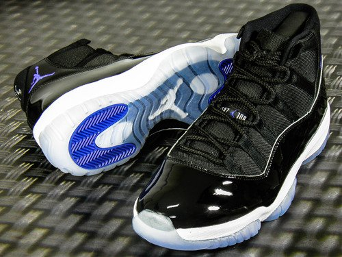 Air Jordan 11 Retro Space Jam Basketball Schuhe - 378037-003
