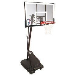 "Spalding Basketballanlage ""NBA Gold Exacta High Lift Portable"""