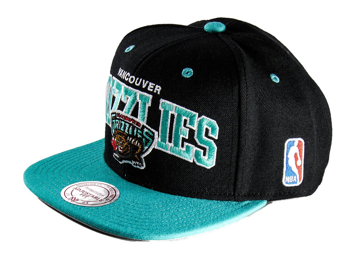 Mitchell   Ness Vancouver Grizzlies Team Arch Snapback - NA80Z-VANGRI -  Basketo.pl be5ae21f0972