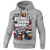 Hooded MOST WANTED GREY