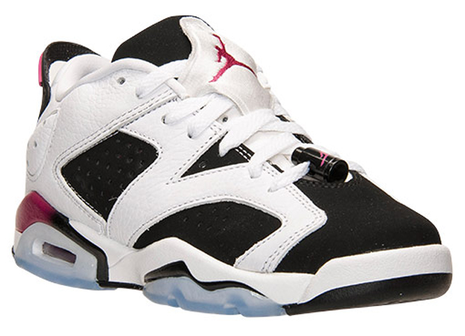 "Air Jordan 6 low GG ""Fuchsia"" 768878-107"