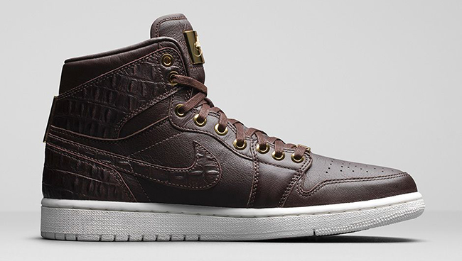 "Air Jordan 1 Pinnacle ""Croc"" - 705075-205"