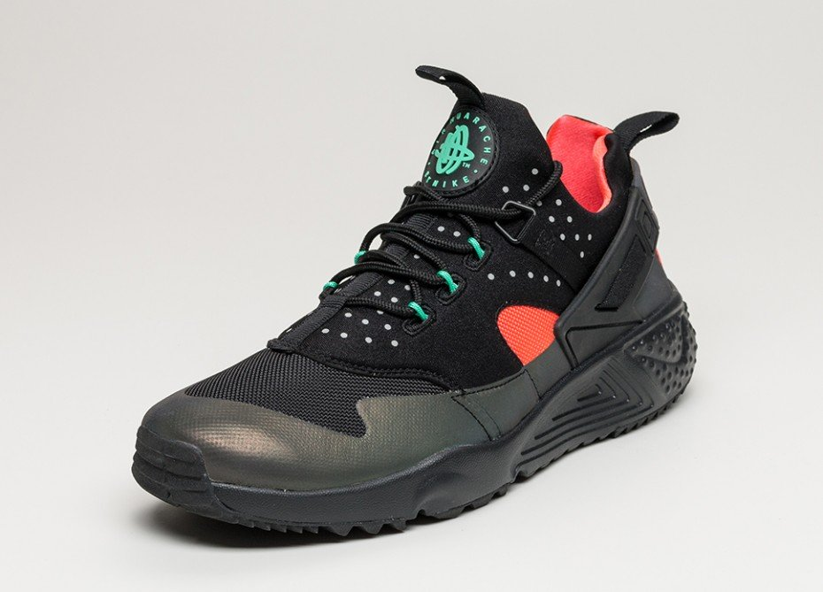 Nike Air Huarache Utility PRM Bright Crimson - 806979-006