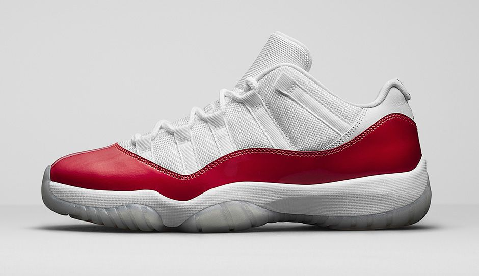 "AIR JORDAN 11 RETRO LOW ""VARSITY RED"" - 528895-102"