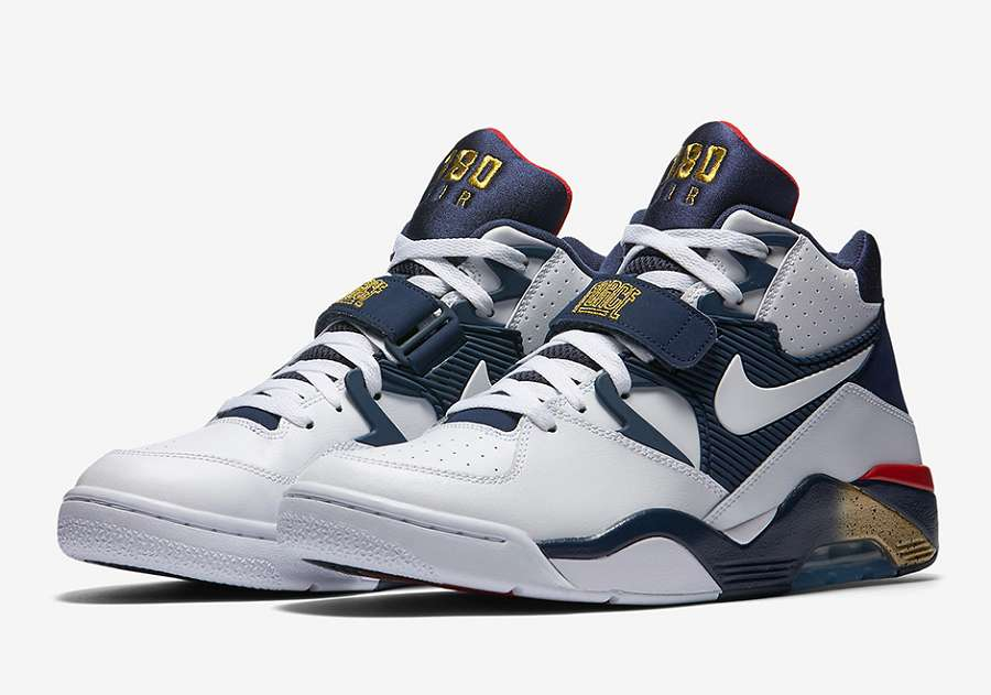 "Nike Air Force 180 ""Olympic"" 2016 - 310095-100"