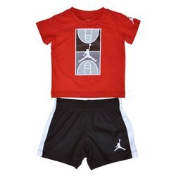 Air Jordan Court Graphic Kids Set - 657488-023
