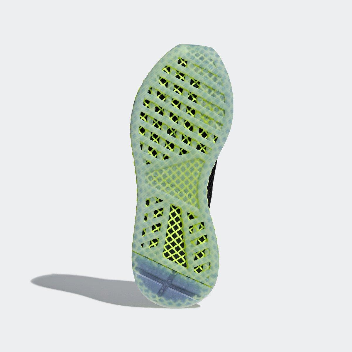 the best attitude 01864 af222 Adidas Deerupt Runner schwarzgrün B41755 Sneaker Originals Männer Schuhe  ...