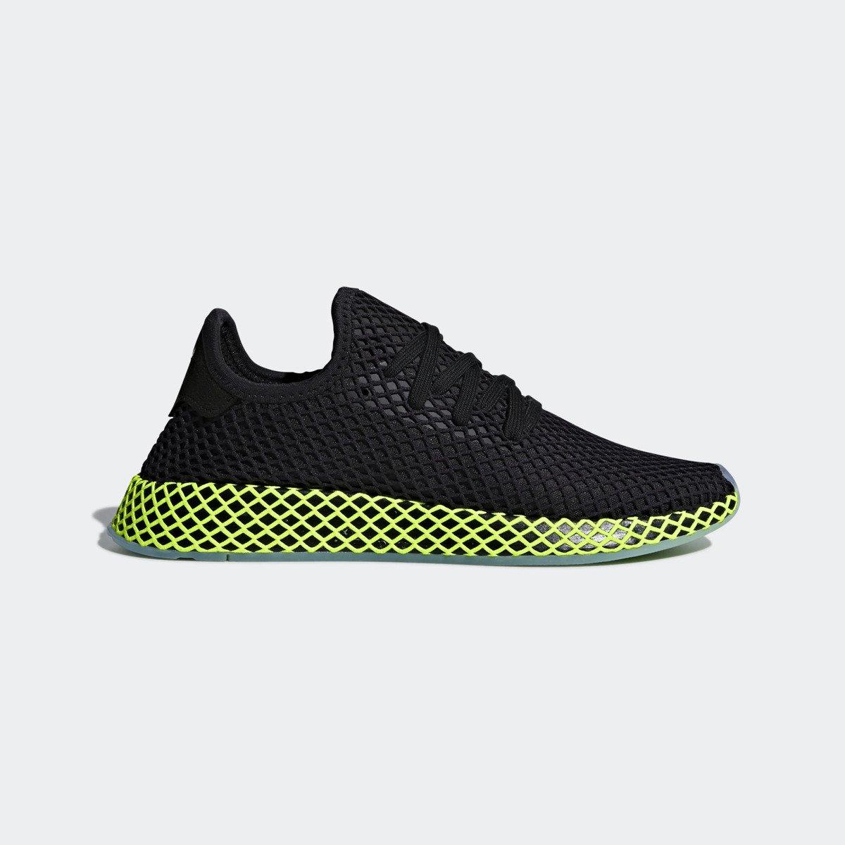 Adidas Deerupt Runner schwarzgrün B41755 Sneaker Originals Männer Schuhe