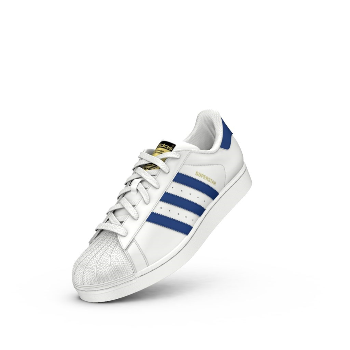 Adidas Sneaker Weiß Superstar Originals S74944 Damen Schuhe