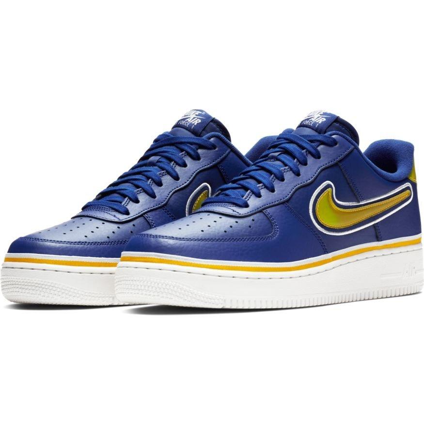 1 LV8 Schuhe Golden Warriors NBA Air Sport AJ7748 400 '07 Nike Force State oxedCB