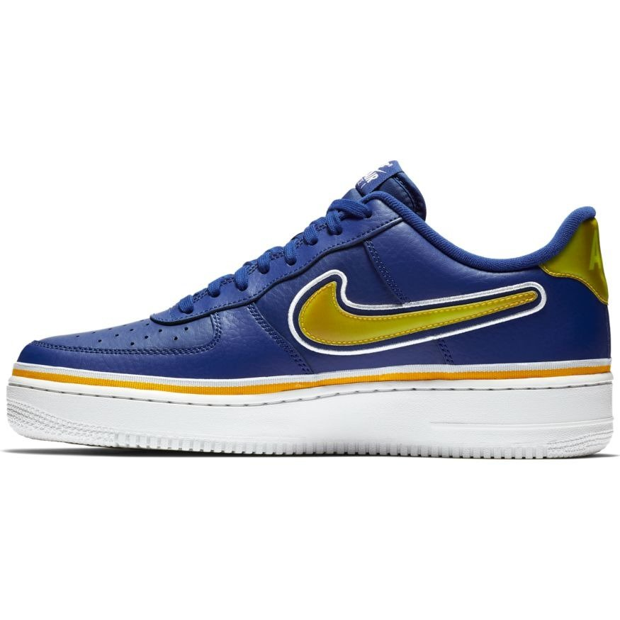 Nike Air Force 1 '07 LV8 Sport NBA Golden State Warriors Schuhe AJ7748 400
