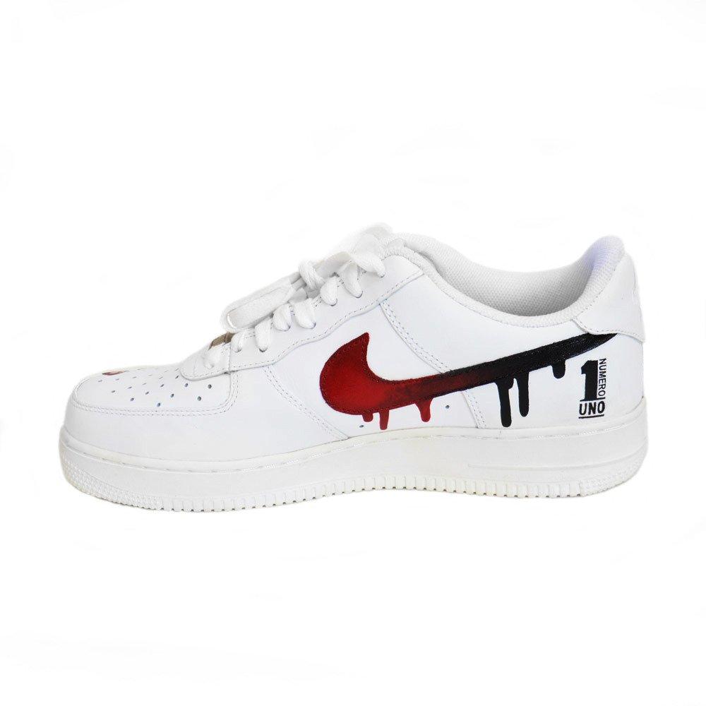 Custom Schuhe Force White 315122 Uno 1 Pablo 111 Numero Air All Nike Low u5TFJl3K1c
