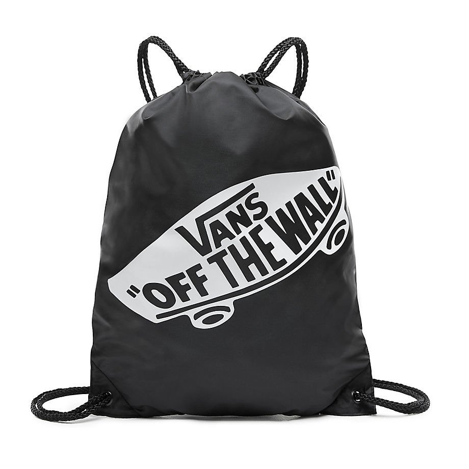 VANS Realm Black & Rose Backpack Rucksack + VANS Benched Trainingsbeutel