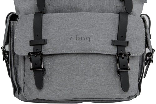 Anti-theft r-bag Packer Grey Backpack - Z012