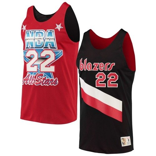 Mitchell & Ness NBA Portland Trail Blazers/All Star 1991 Clyde Drexler Reversible Mesh Tank