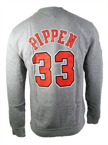 Mitchell & Ness Scottie Pippen Chicago Bulls NBA Sweatshirt - 33SPIPP-GRY