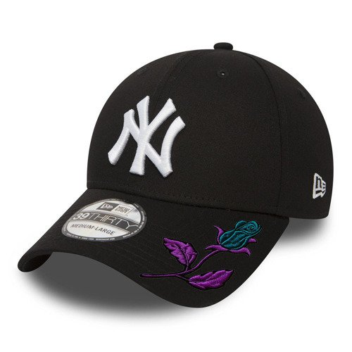 New Era 39THIRTY MLB New York Yankees Fullcap Custom Mystic Rose - 10145638