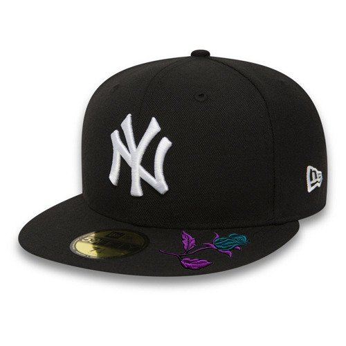 New Era 59FIFTY MLB New York Yankees Fullcap Custom Mystic Rose - 10003436