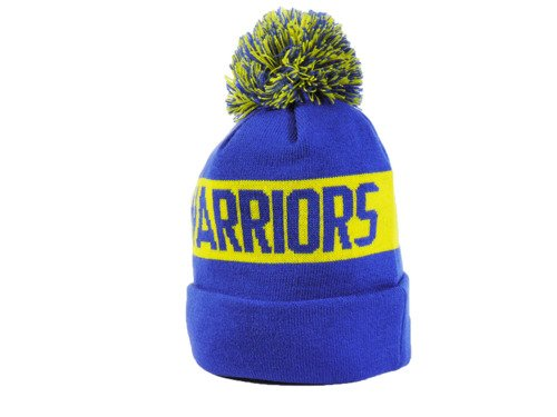 New Era NBA Golden State Warriors Team Tonal Knit Wintermütze  - 80524579