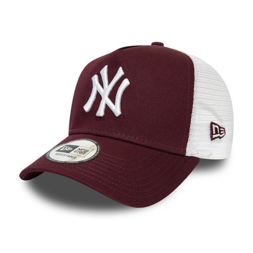 New Era NY Yankees Maroon White Logo A-Frame Trucker - 12285470