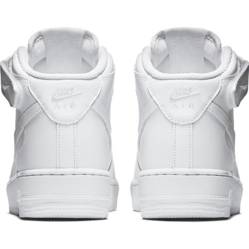 Nike Air Force 1 Mid All White Schuhe - 315123-111