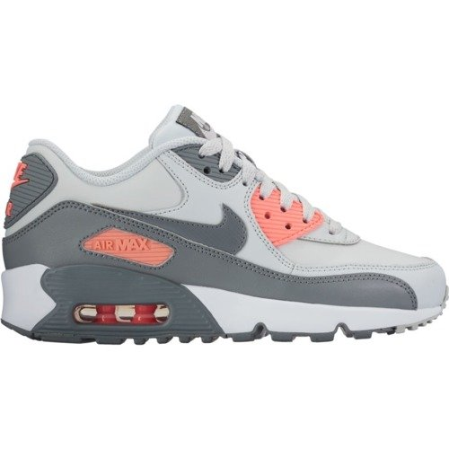 Nike Air Max 90 Leather GS Light Platinum Schuhe - 833376-006