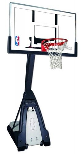 Spalding NBA BEAST Portable Basketball Construction Hoop set