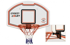 Sure Shot 507 Bronx Basketball Bord met Net + Ring