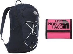 The North Face Rodey Backpack One Size Urban Navy + Base Camp Wallet