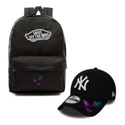 Vans Realm Backpack + New York 9FORTY New York Yankees Snapback