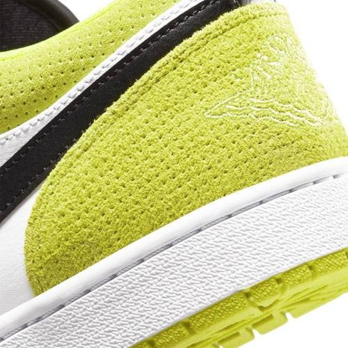 Air Jordan 1 Low Cyber Green Shoes - CK3022-003