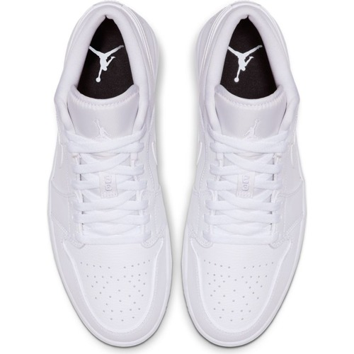 Air Jordan 1 Low White Shoes - 553558-112