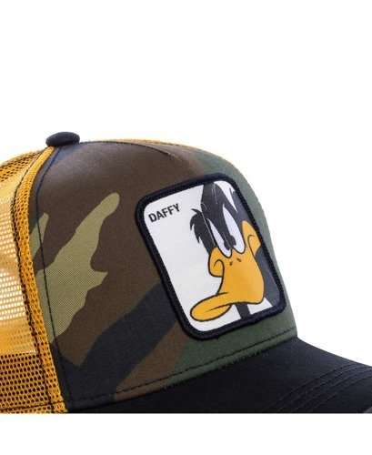 Capslab Looney Tunes Daffy Duck Trucker Berretto - CL/LOO/1/DAF4