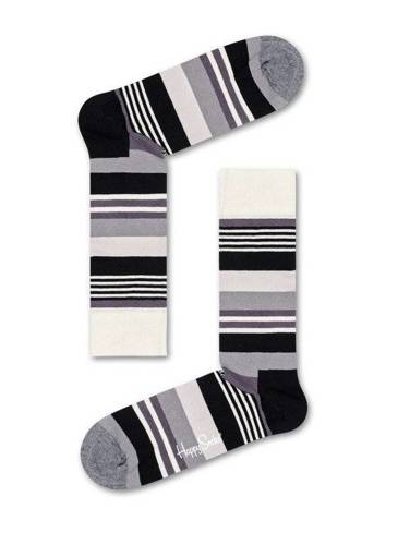 Giftbox Happy Socks Black and White - XBLW09-9004