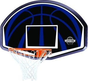 Lifetime 90065 Basketball Backboard + Basketball Rim