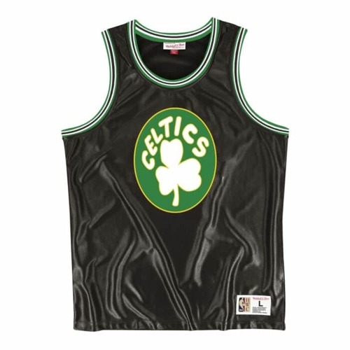 Mitchell & Ness NBA Boston Celtics Dazzle Tank Top - MSTKDF18015-BCEBLCK1