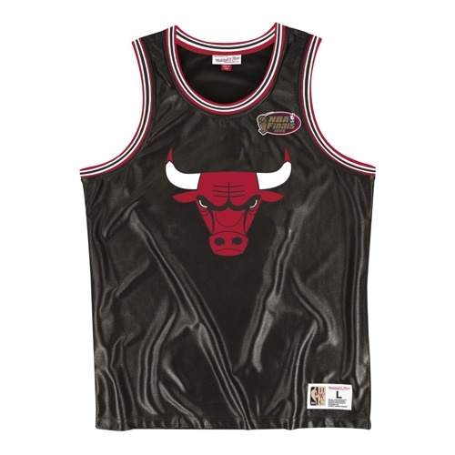 Mitchell & Ness NBA Chicago Bulls Dazzle Tank Top - MSTKDF18015-CBUBLCK1