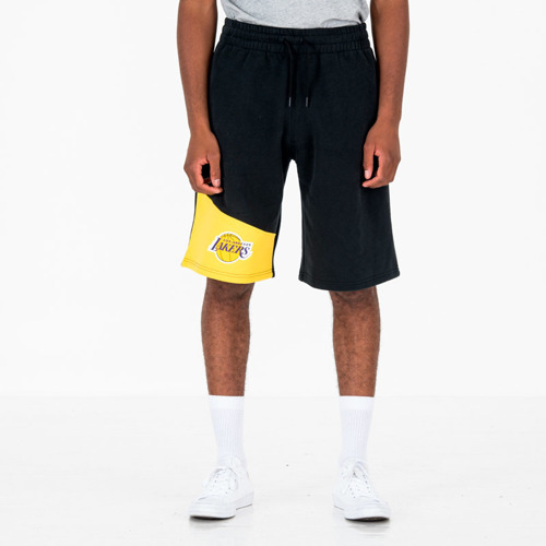 New Era Los Angeles Lakers NBA Colour Block Shorts - 11935261