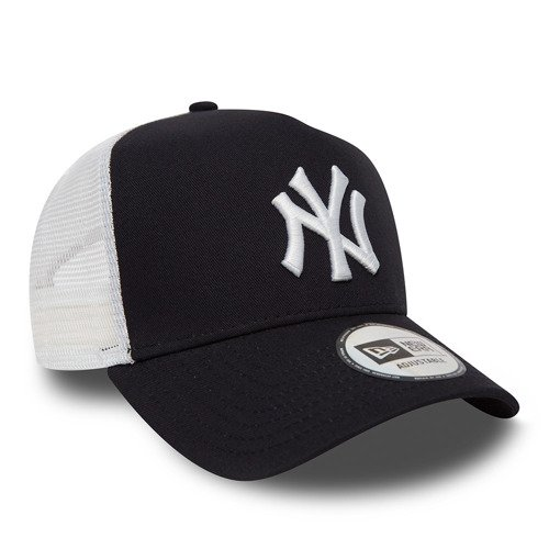 New Era MLB New York Yankees Clean A Frame Trucker Cap Custom Rose - 11588489