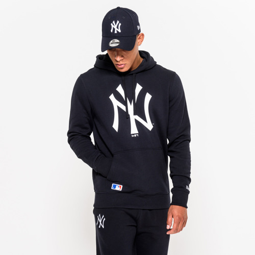New Era MLB Team New York Yankees Logo Hoodie - 11204004