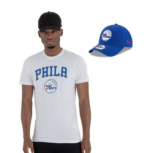 New Era NBA Philadelphia 76ers T-shirt + Strapback