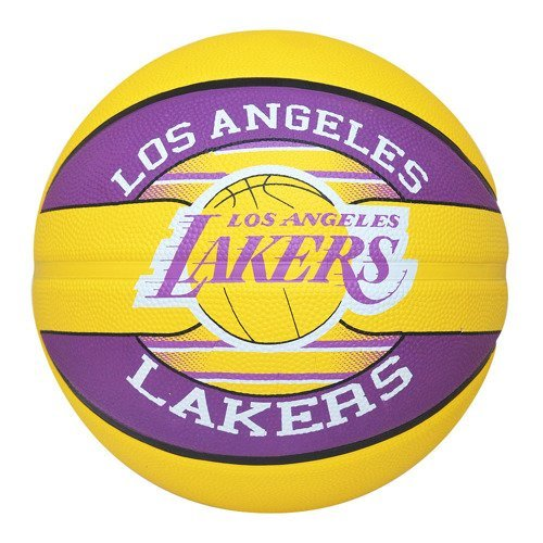 Spalding NBA Team Los Angeles Lakers Pallacanestro + Air Jordan Essential Ball Pump